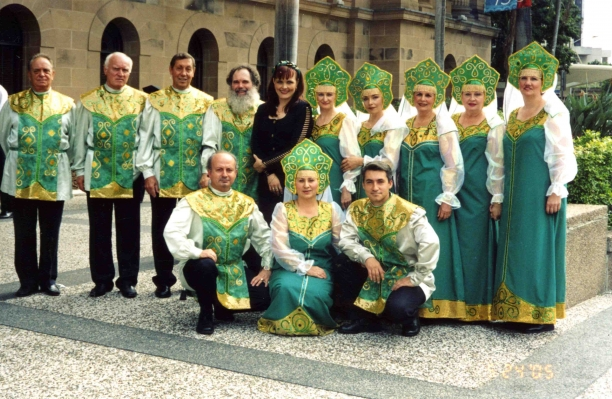 Russian Folkloric Ensemble Brisbane Samotsvety
